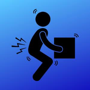 腰痛整体ロゴマーク